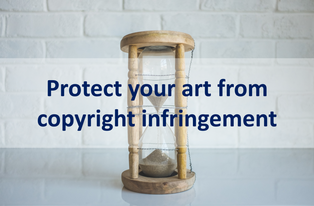 Protect your art from copyright infringement